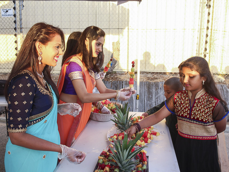 Annakut Celebration at BAPS Shri Swaminarayan Mandir, Perth