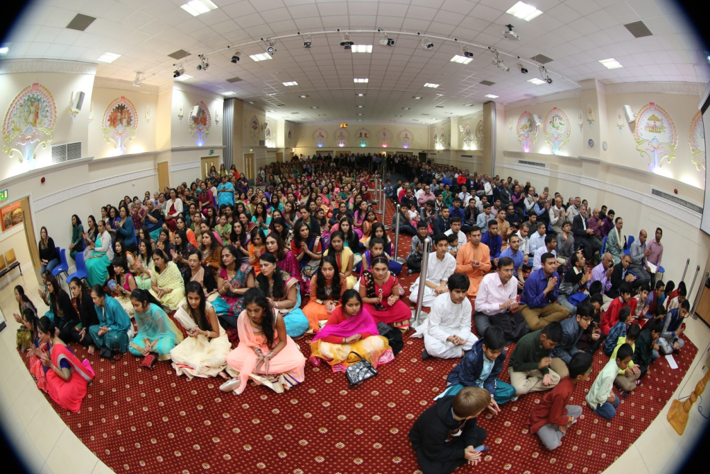 Annakut Celebrations, Wellingborough, UK