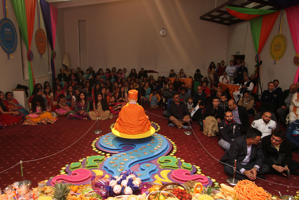 Diwali & Annakut Celebrations, Coventry, UK