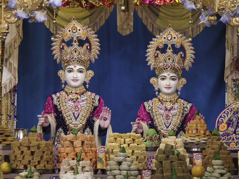 Annakut Celebration at BAPS Shri Swaminarayan Mandir, Nadiad