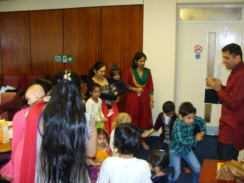 Children's Diwali Celebrations, Glasgow, UK