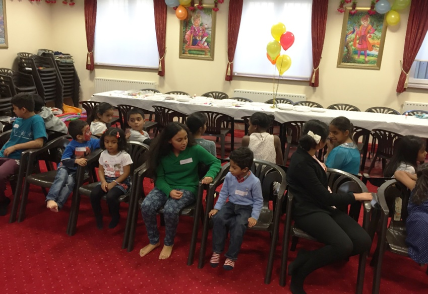 Children's Diwali Celebrations, Southend-on-Sea, UK