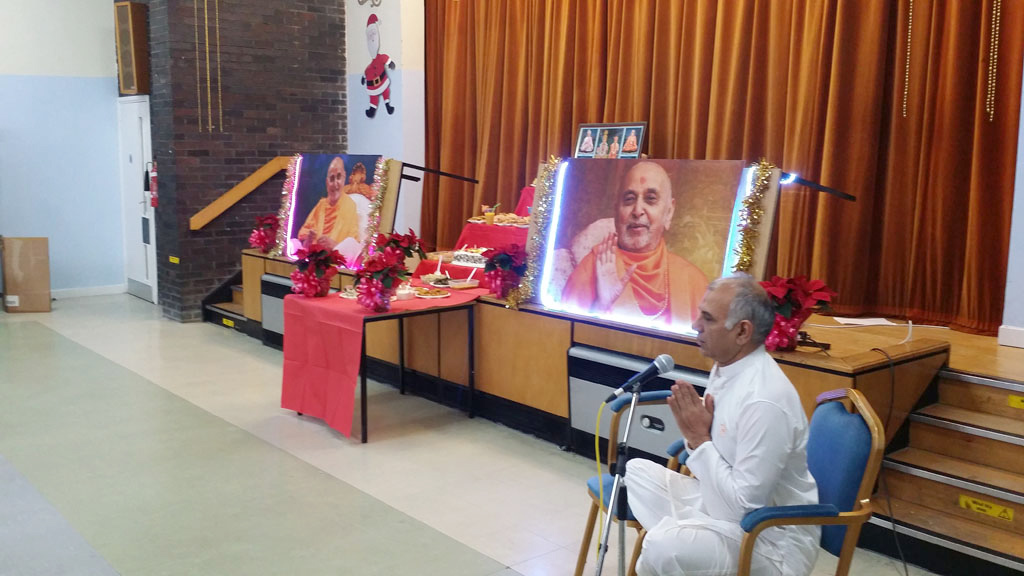 Pramukh Swami Maharaj's 95th Birthday Celebrations, Glasgow, UK