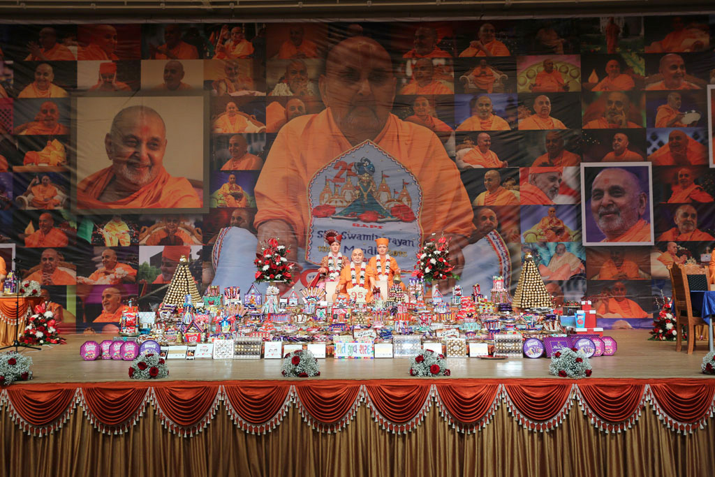 Pramukh Swami Maharaj's 95th Birthday Celebrations, London, UK