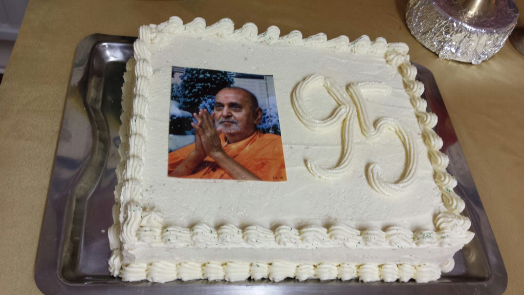 Pramukh Swami Maharaj 95th Birthday Celebrations, Cardiff, UK