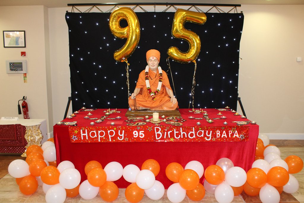 Pramukh Swami Maharaj 95th Birthday Celebrations, Preston, UK