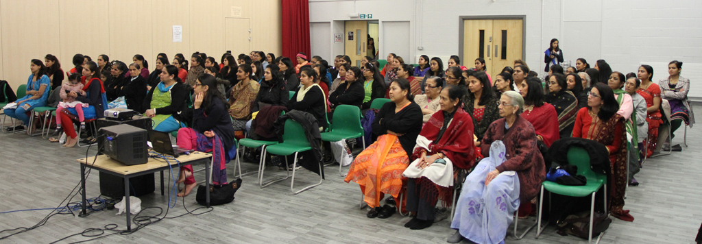 Pramukh Swami Maharaj 95th Birthday Celebrations (Mahila Mandal), East London, UK
