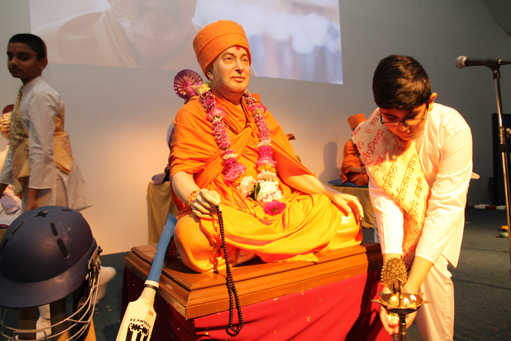 Pramukh Swami Maharaj 95th Birthday Celebrations, Manchester, UK