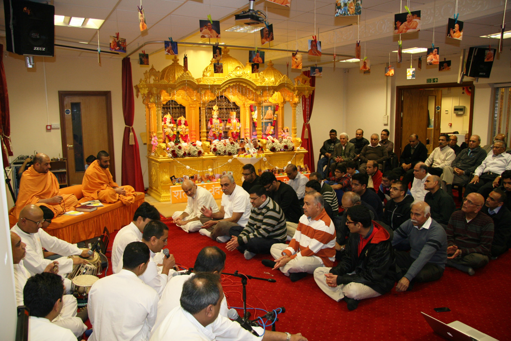 Pramukh Swami Maharaj 95th Birthday Celebrations, Southend-on-Sea, UK