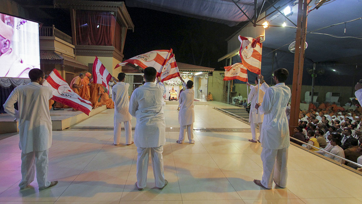 Youths perform dance