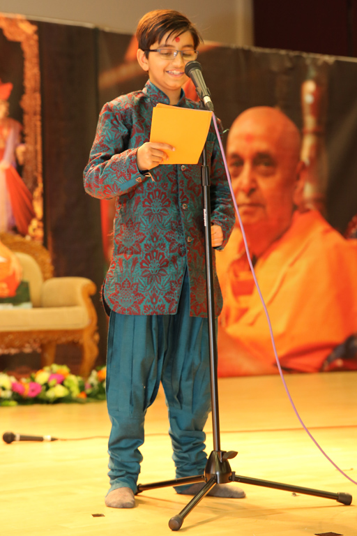 Pramukh Swami Maharaj 95th Birthday Celebrations, South London, UK