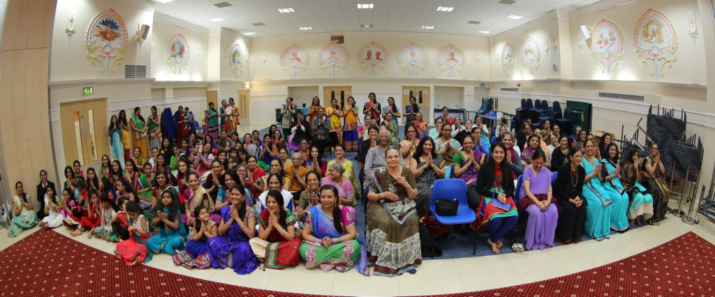 Pramukh Swami Maharaj 95th Birthday Celebrations, Wellingborough (Mahila Mandal). UK