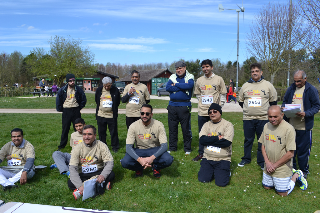 BAPS Annual Charity Challenge, Nottingham, UK