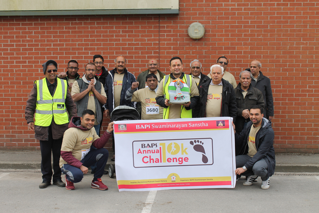 BAPS Annual Charity Challenge, Bolton, UK