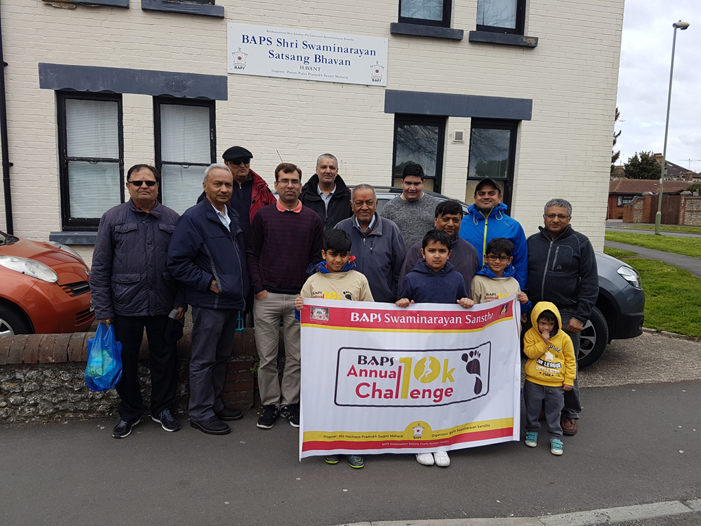 BAPS Annual Charity Challenge, Havant, UK