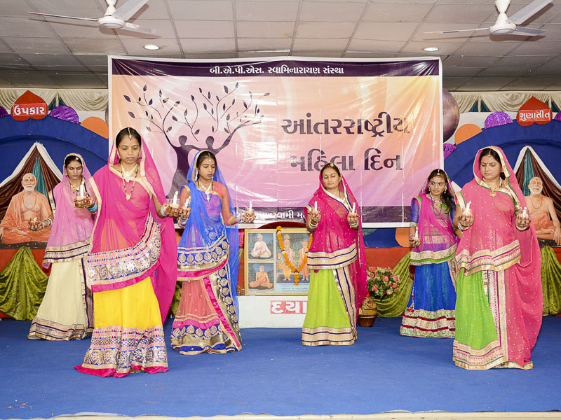 Women's Day Celebration 2016, Limbdi