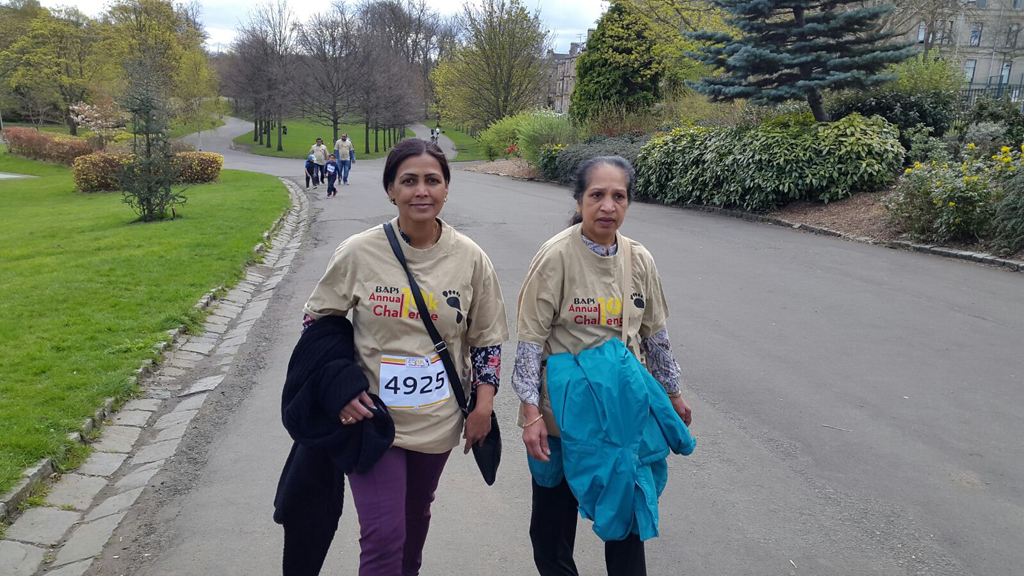BAPS Annual Charity Challenge, Glasgow, UK