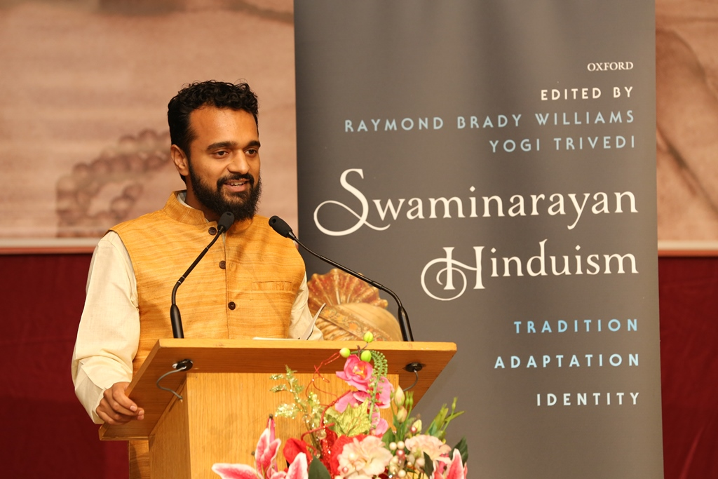 Yogi Trivedi, School of Journalism and Department of Religion, Columbia University, New York, USA, and co-editor of 'Swaminarayan Hinduism'