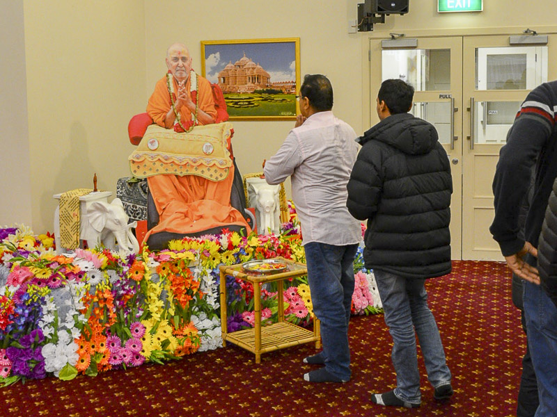 Guru Purnima Celebration 2016, Christchurch