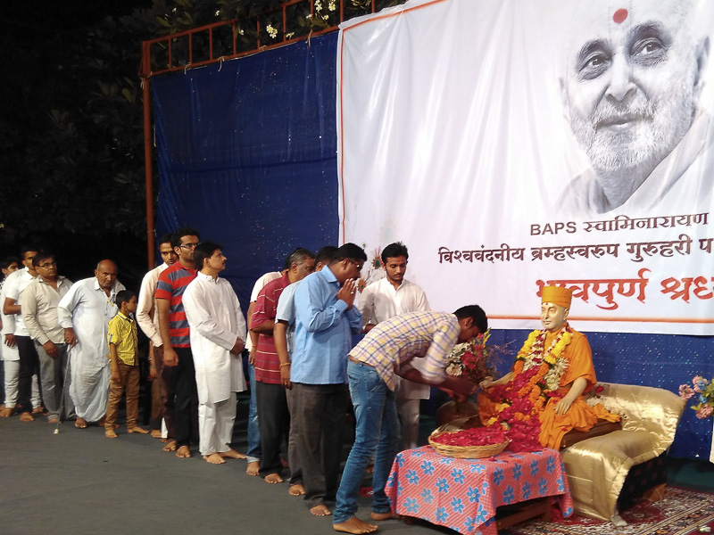 Tribute Assembly in Honor of HH Pramukh Swami Maharaj, Dhule