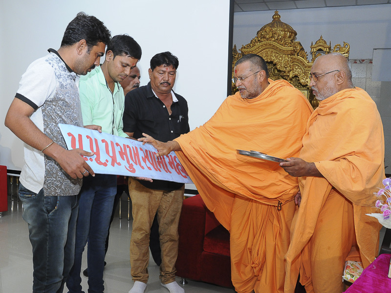 Tribute Assembly in Honor of HH Pramukh Swami Maharaj, Bhadra