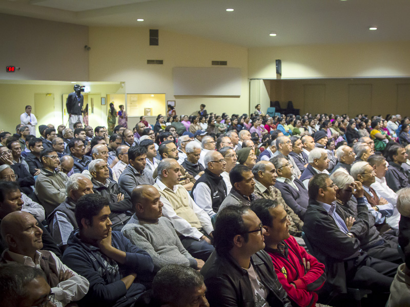 Tribute Assembly in Honor of HH Pramukh Swami Maharaj, Auckland