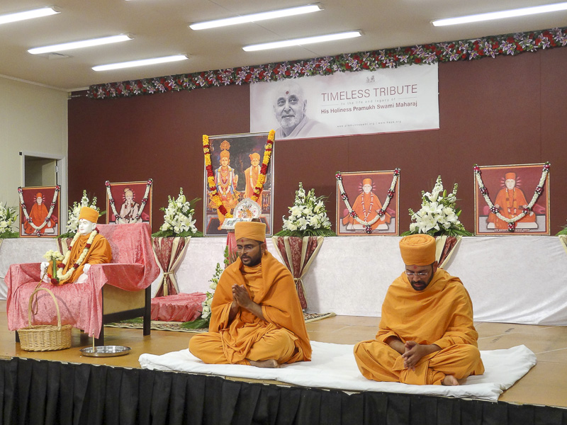Tribute Assembly in Honor of HH Pramukh Swami Maharaj, Wellington