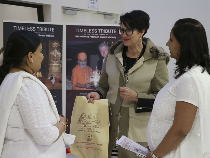 Tribute Assembly in Honor of HH Pramukh Swami Maharaj, Adelaide