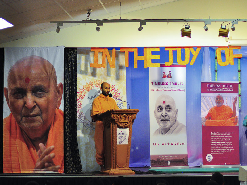 Tribute Assembly in Honor of HH Pramukh Swami Maharaj, Brisbane