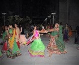 Students enjoying garba