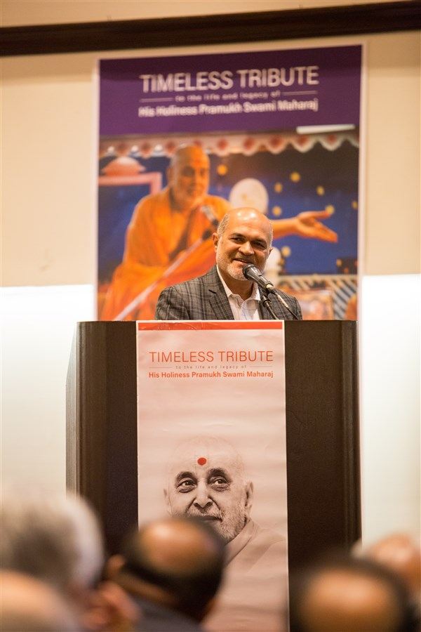 Anand Patel, President, Federation of Indian Associations