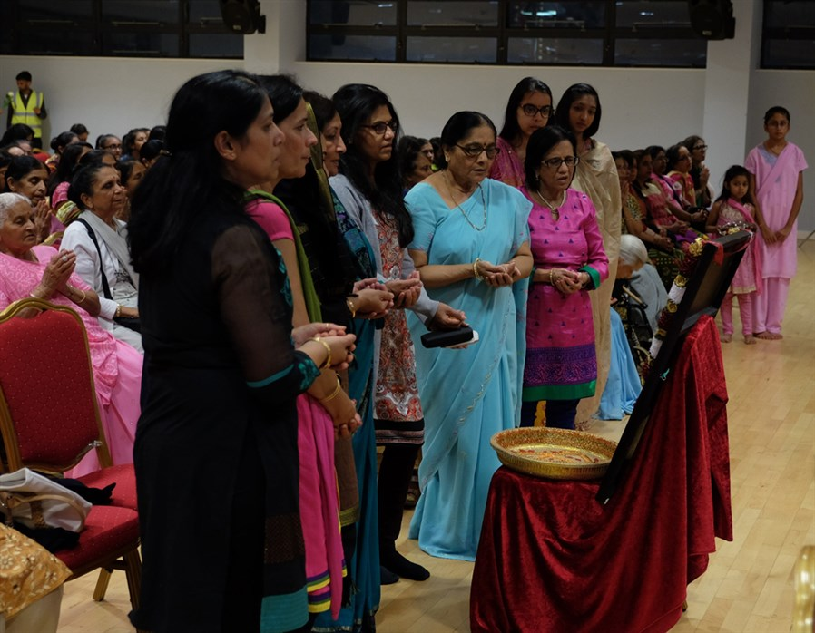 Tribute Assembly in Honour of HH Pramukh Swami Maharaj, East London, UK