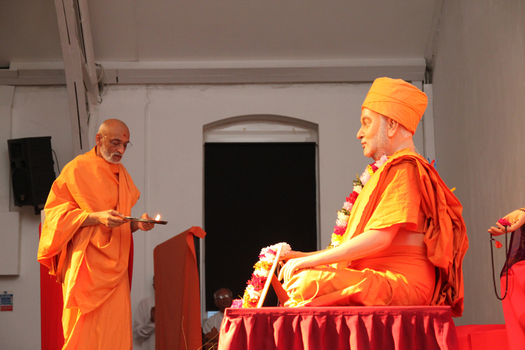 Tribute Assembly in Honour of HH Pramukh Swami Maharaj, Manchester, UK