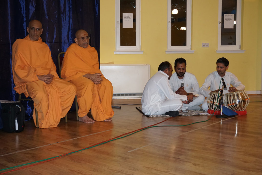 Tribute Assembly in Honour of HH Pramukh Swami Maharaj, Edinburgh, UK