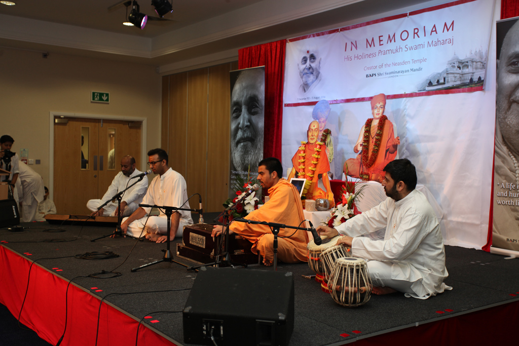 Tribute Assembly in Honour of HH Pramukh Swami Maharaj, Preston, UK
