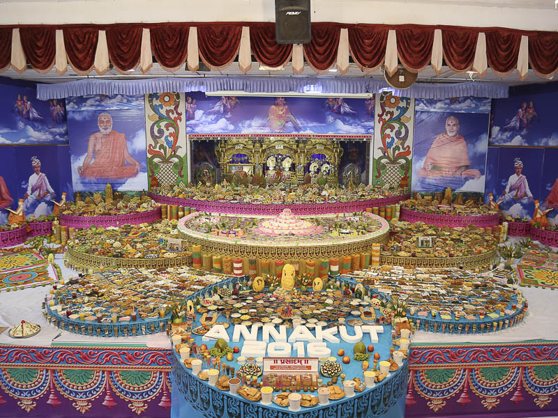 Annakut Celebrations 2016, Navsari