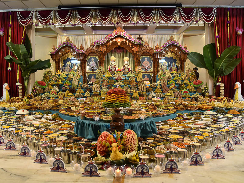 Annakut Celebrations 2016, Gandhinagar