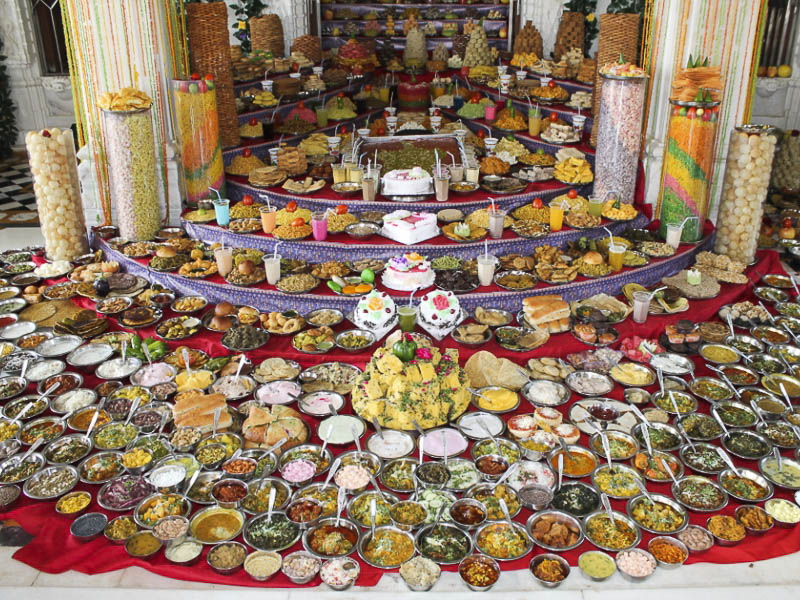 Annakut Celebrations 2016, Gadhada