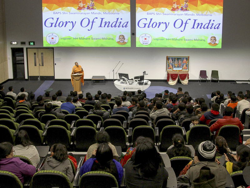 'Glory of India' Yuva Sammelan, Melbourne