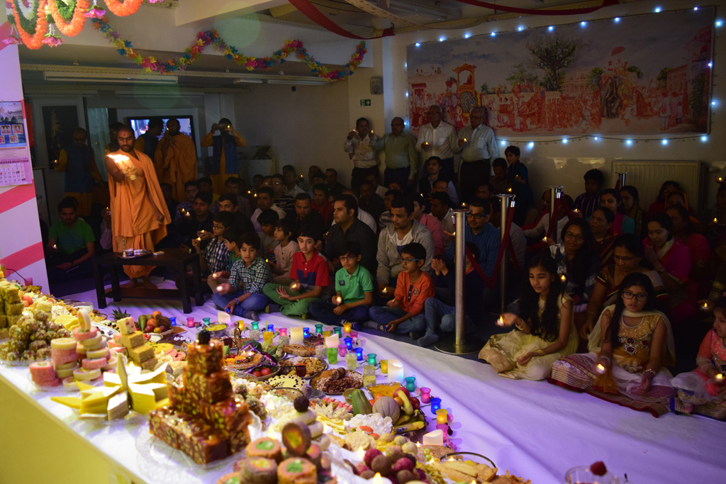Diwali & Annakut Celebrations, Antwerp, Belgium