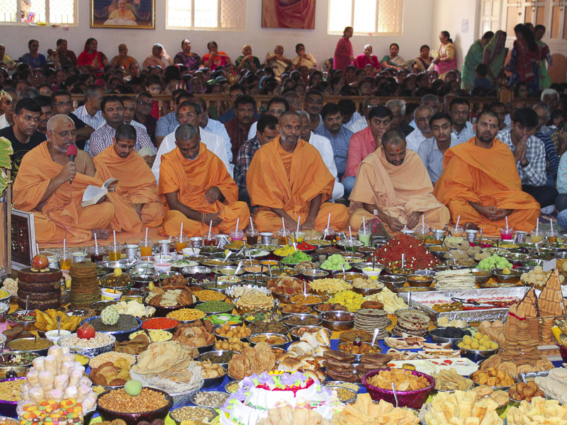 Annakut Celebrations 2016, Bhuj