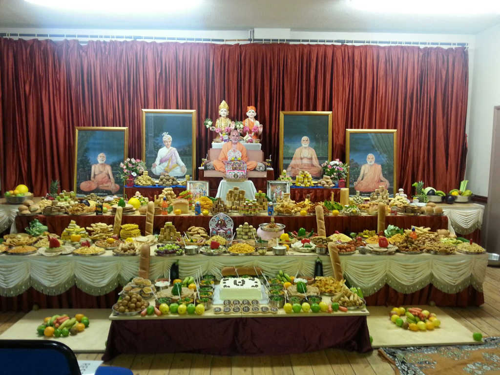 Diwali & Annakut Celebrations, Rushden, UK