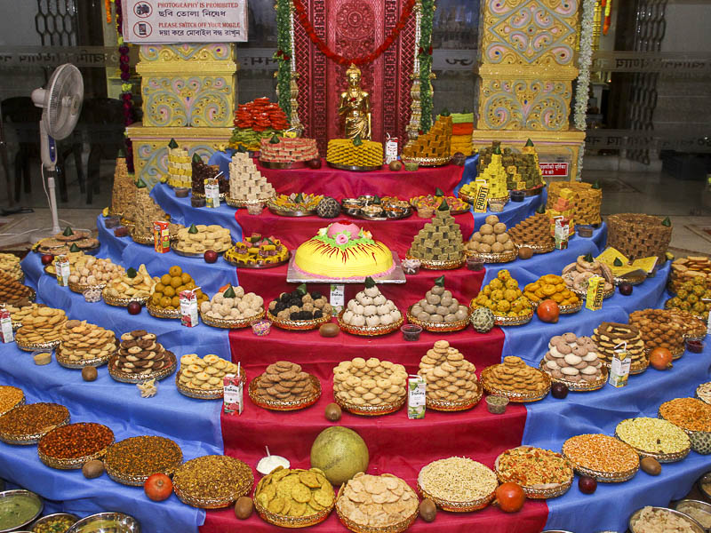 Annakut Celebrations 2016, Kolkata