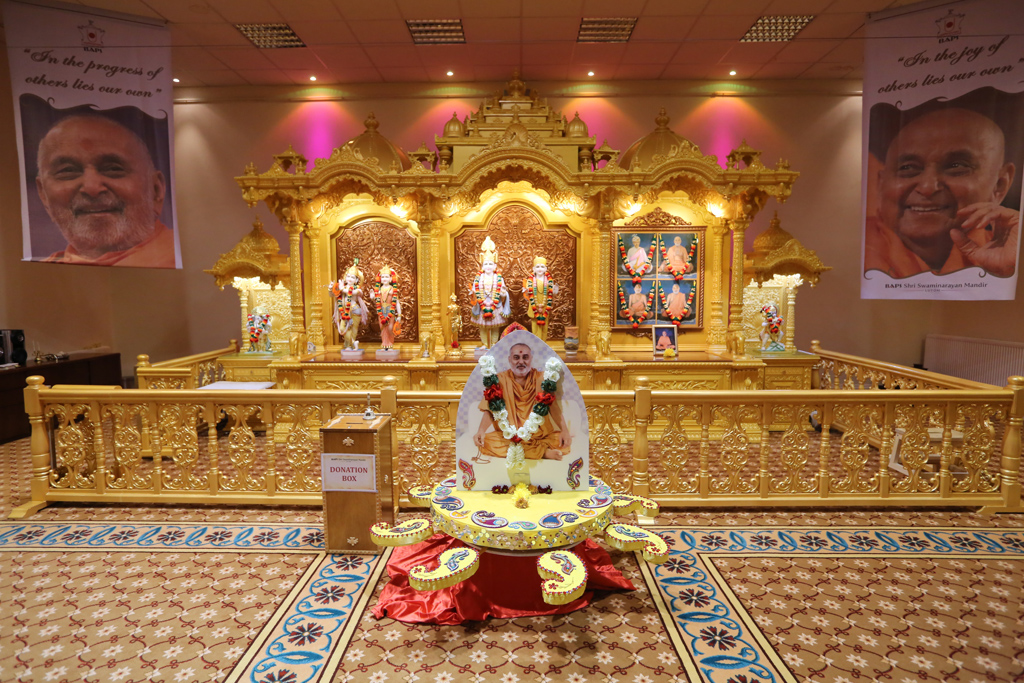 Tribute Assembly in Honour of HH Pramukh Swami Maharaj, Mahila Mandal, Luton, UK