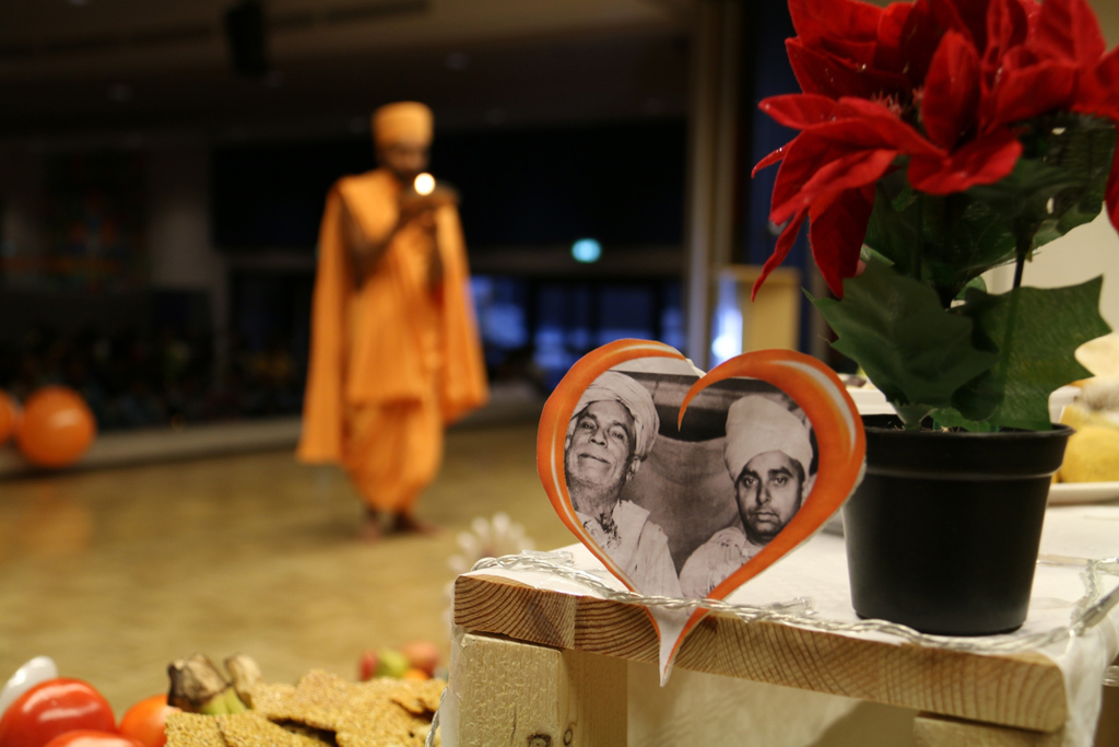 Tribute Assembly in Honour of HH Pramukh Swami Maharaj, Aachen, Germany