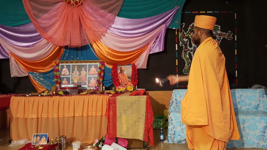 Tribute Assembly in Honour of HH Pramukh Swami Maharaj, Milan, Italy