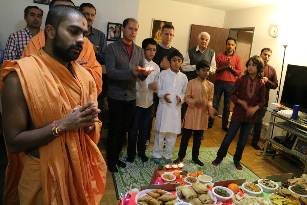 Tribute Assembly in Honour of HH Pramukh Swami Maharaj, Zurich, Switzerland