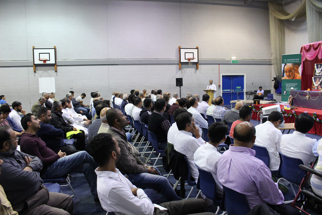 Tribute Assembly in Honour of HH Pramukh Swami Maharaj, South East London, UK