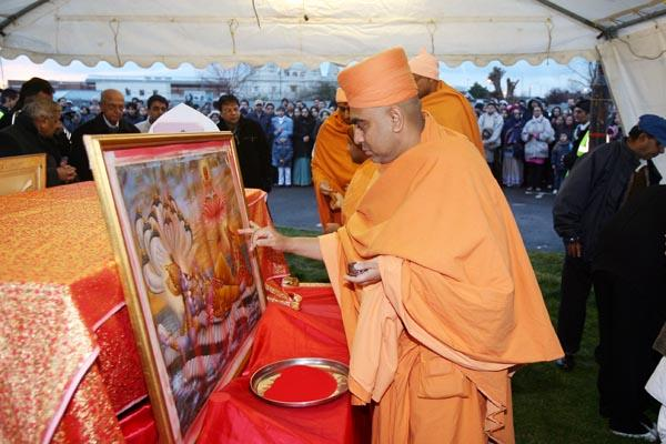 Holi Celebrations at BAPS Shri Swaminarayan Mandir,London,uk -