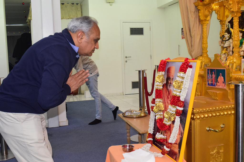 Pramukh Swami Maharaj Birthday Celebrations, Antwerp, Belgium